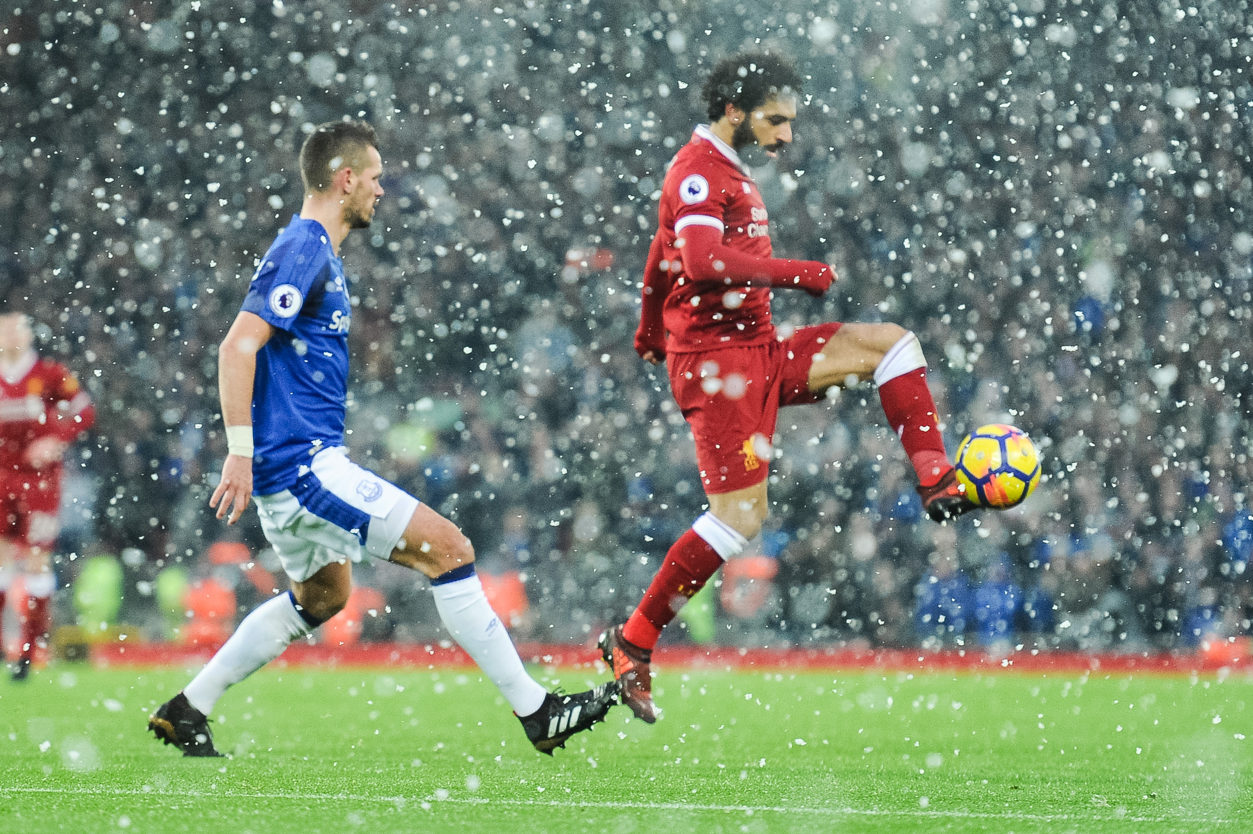 Liverpool vs Everton, Premier League, Football, Anfield, UK, 10.12.2017