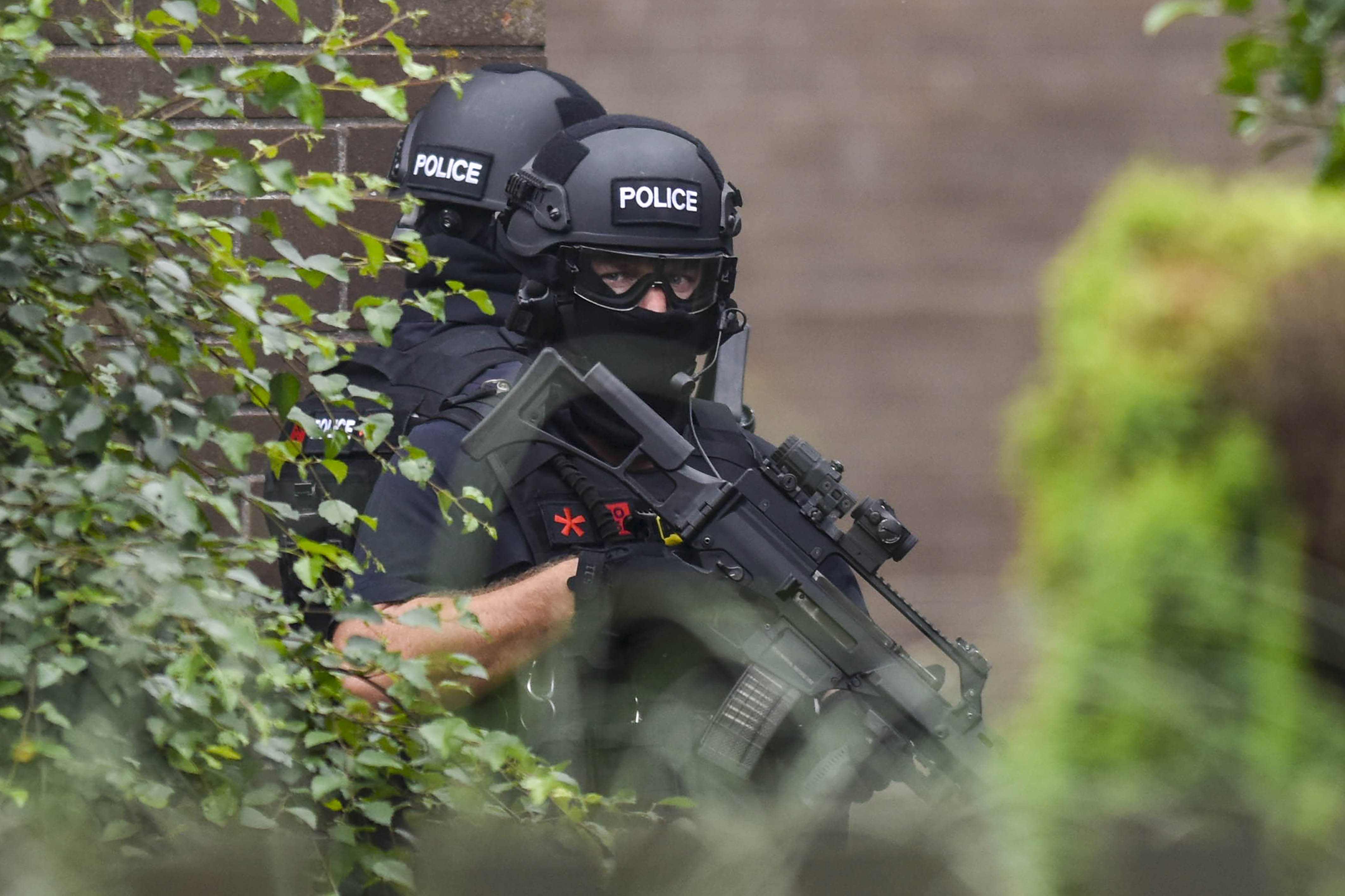 GUNMAN ARRESTED AFTER ARMED POLICE SWOOP ON HOME TO FREE MUM-OF-TWO AND END 25-HOUR HOSTAGE DRAMA