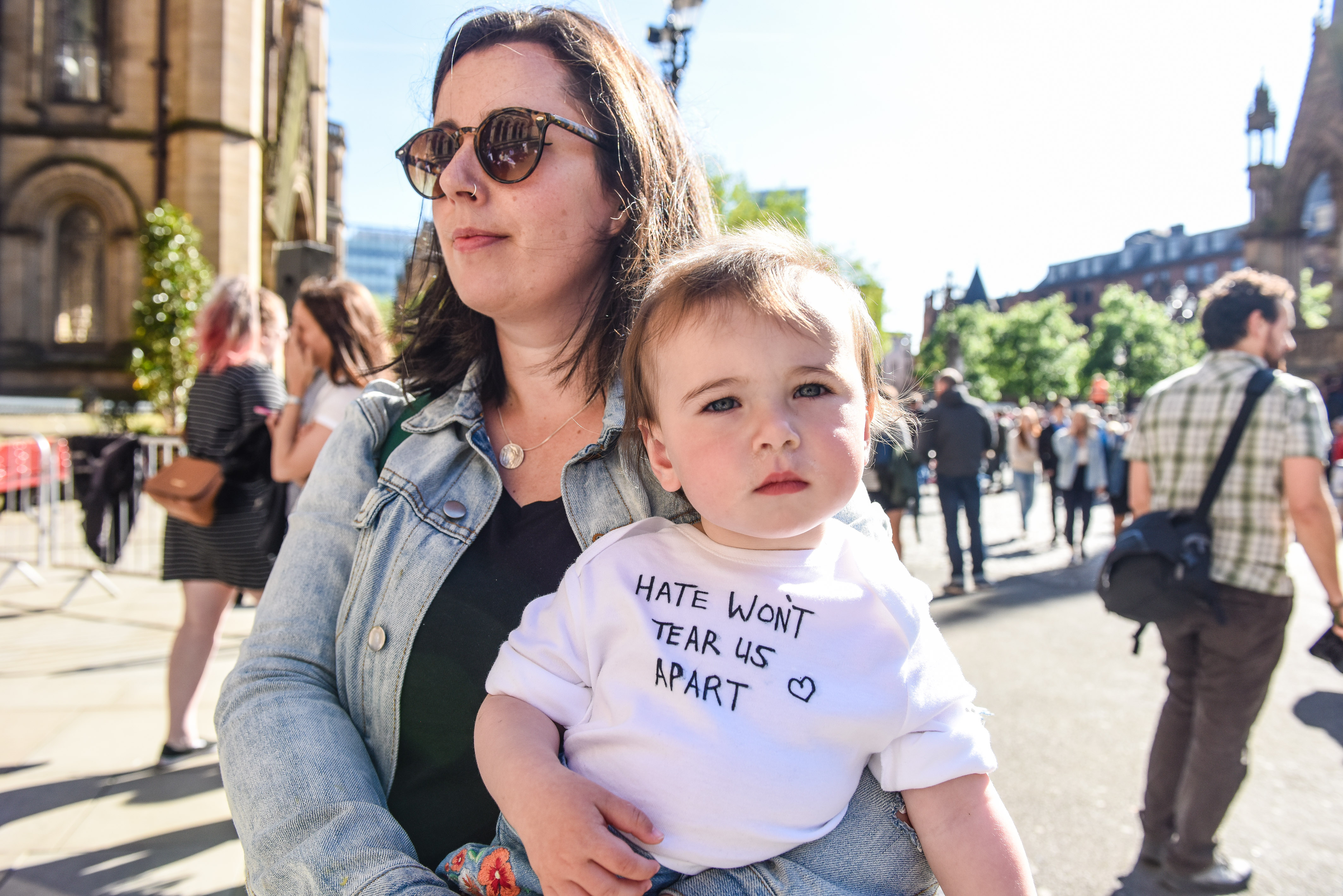 VIGIL HELD FOR THE VICTIMS OF THE MANCHESTER ARENA TERROR ATTACK