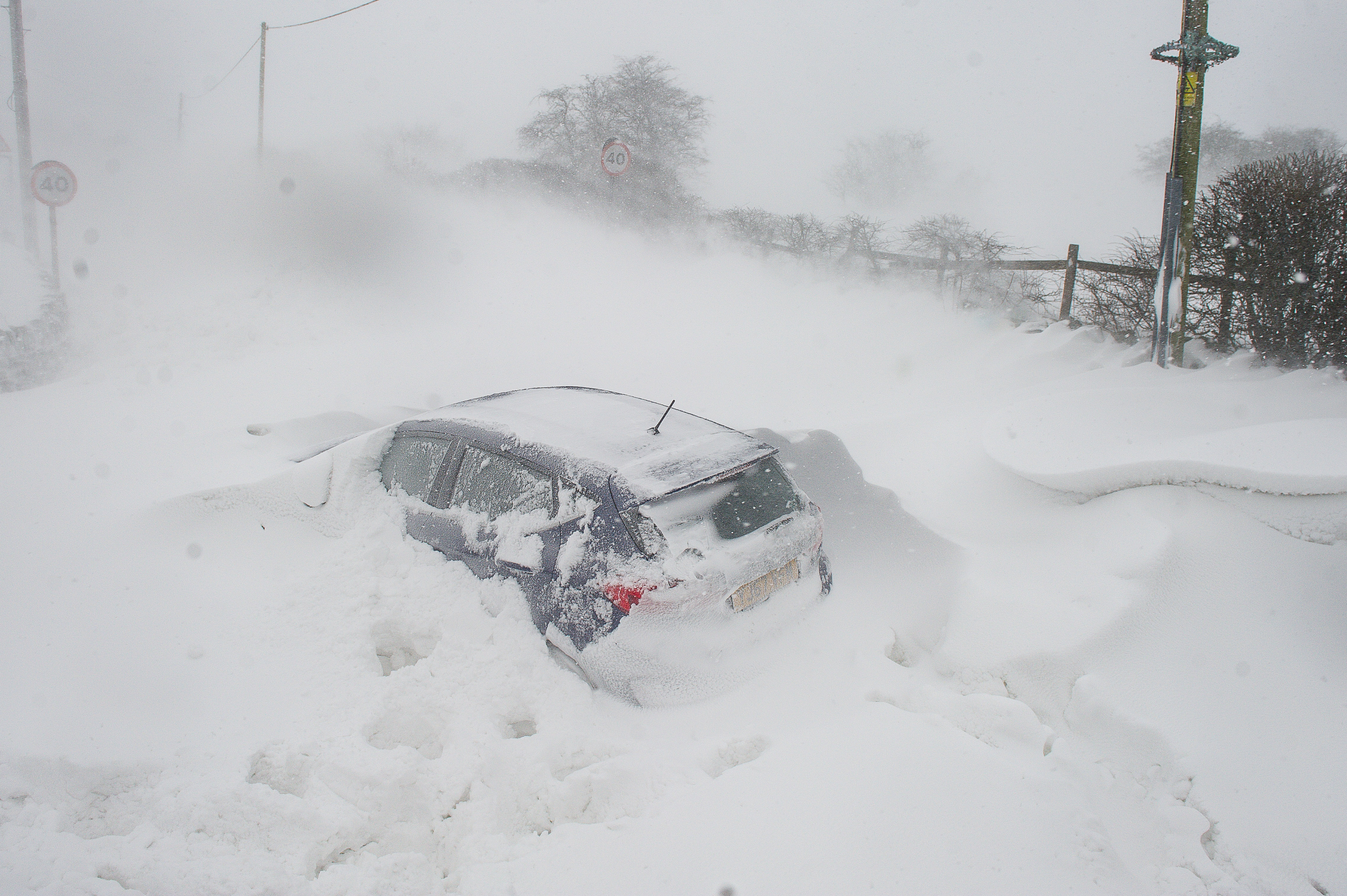 STORM EMMA IN SADDLEWORTH