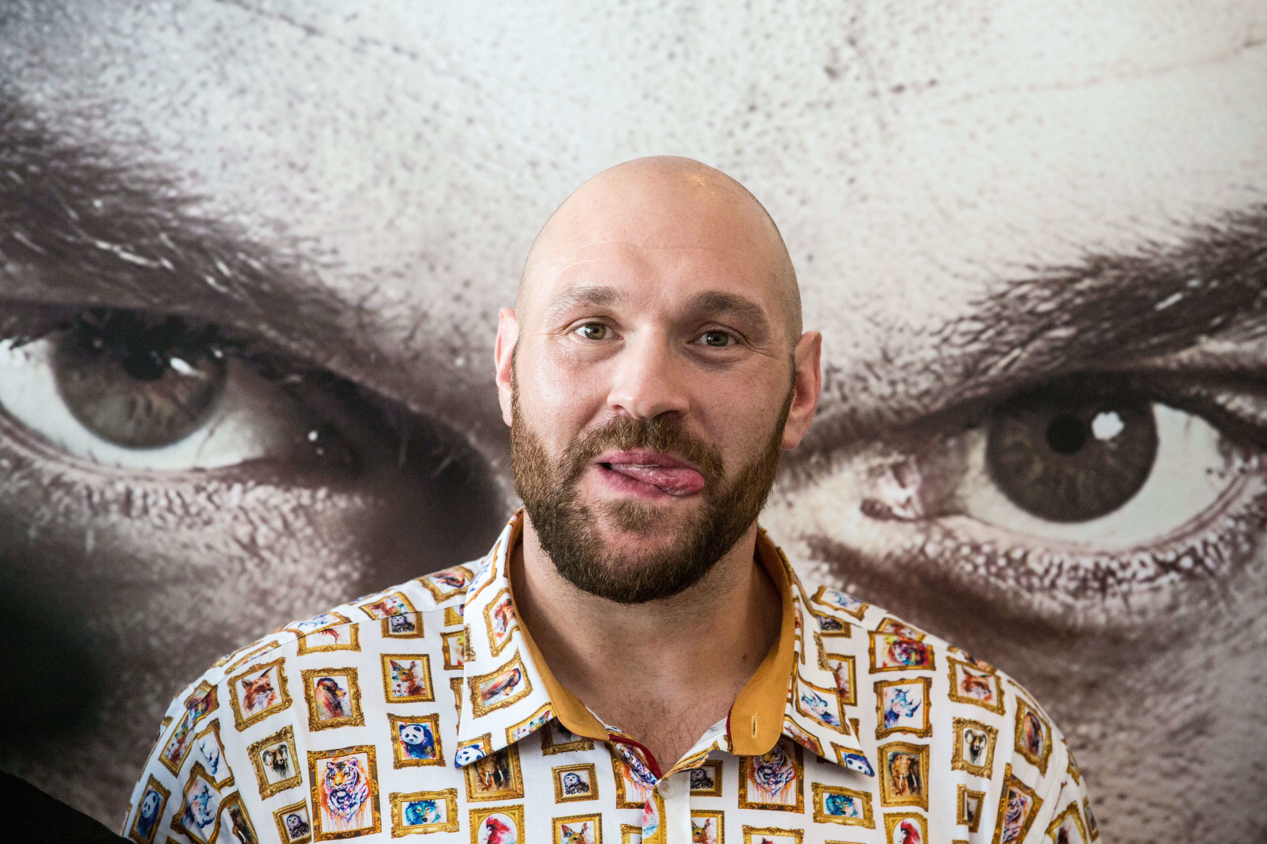 TYSON FURY COMEBACK FIGHT PRESS CONFERENCE